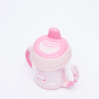 Marie the Cat Printed Spill Proof Cup with Handles