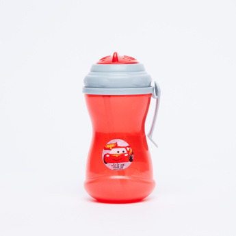 Cars Printed Straw Cup