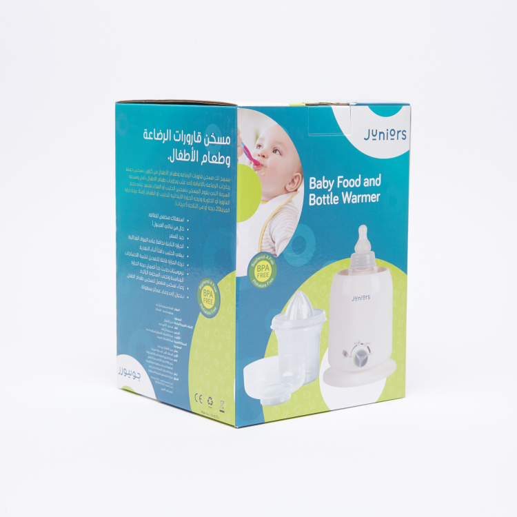 Juniors Baby Bottle and Food Warmer