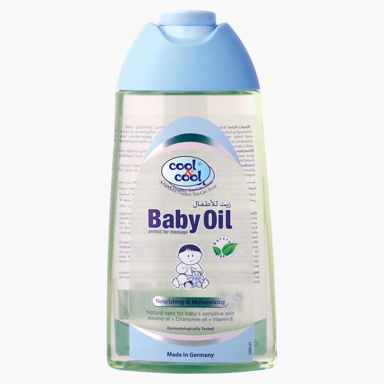 Cool & Cool Baby Oil - 250 ml