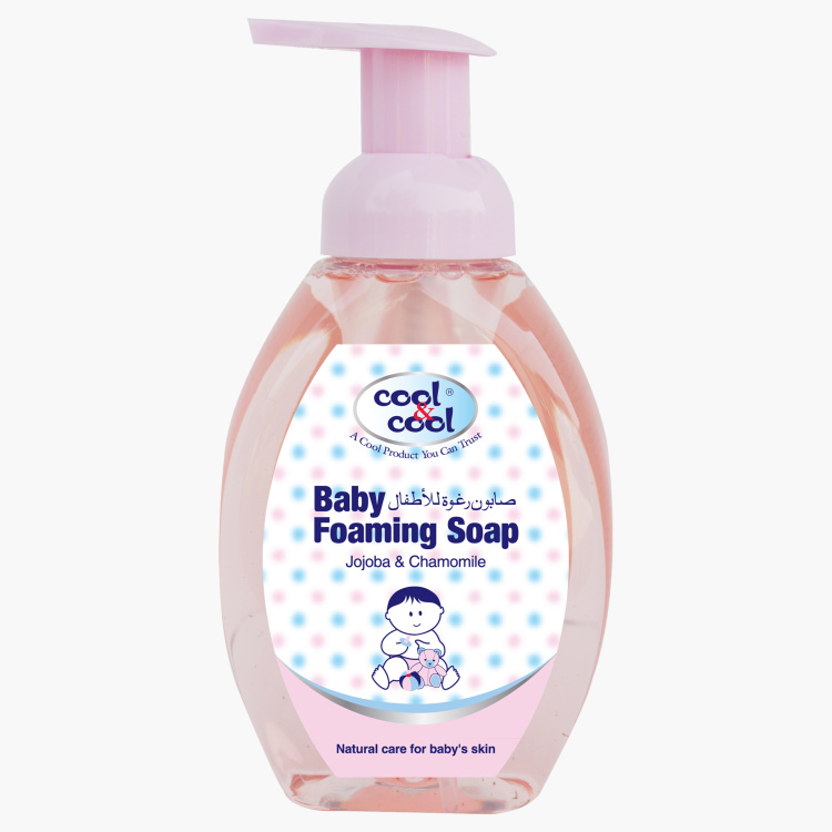 Cool & Cool Jojoba & Chamomile Baby Foaming Soap - 350 ml