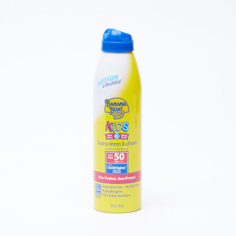 Banana Boat Kids Tear Free SPF 50 Sunscreen Lotion Spray - 175 ml