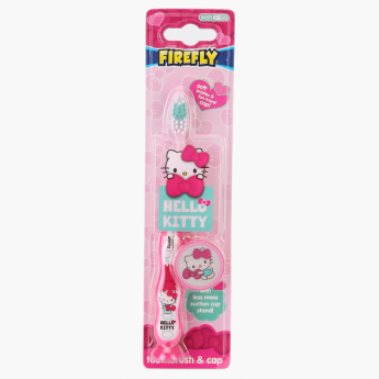 Hello Kitty Toothbrush with Cap and Suction Cup