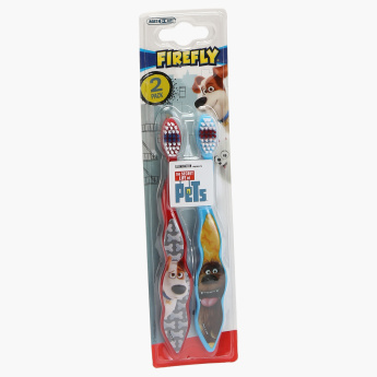 The Secret Life of Pets Vibrating Toothbrush - Set of 2