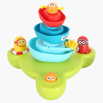 Yookidoo Stack 'n' Spray Tub Fountain Playset