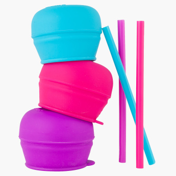 Boon Straw and Lid - Set of 3