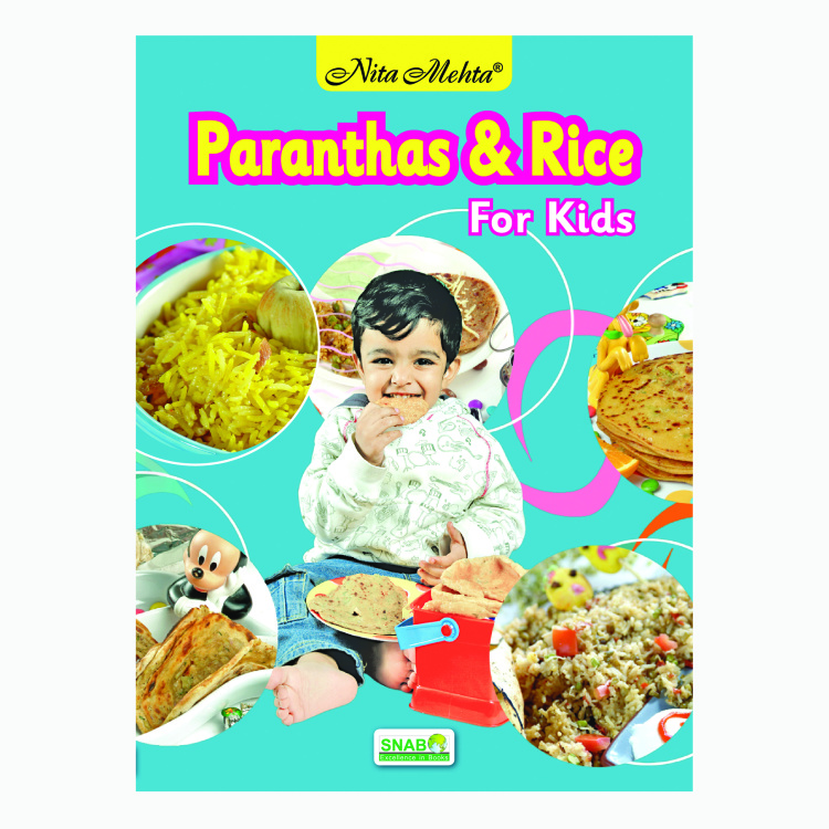 SNAB Paranthas & Rice for Kids Recipe Book