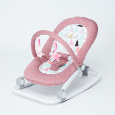 Juniors Oasis Printed Baby Rocker