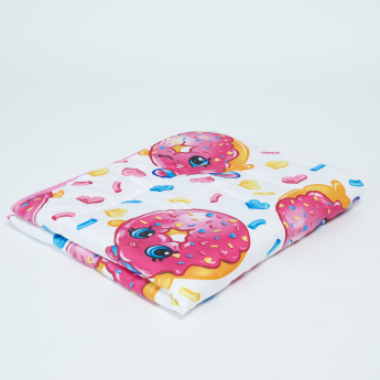 Shopkins Printed Comforter and Pillow Set - 120x140 cms