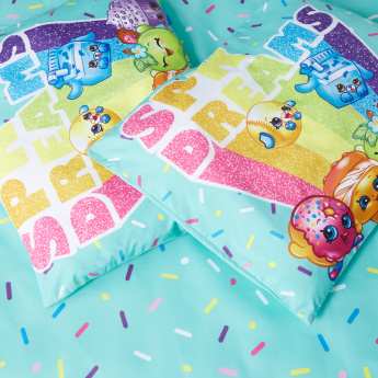 Shopkins Printed 4-Piece Comforter Set -  220x150 cms