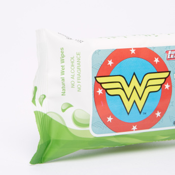 Justice League Extra Sensitive 12-Piece Wet Wipes