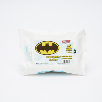Batman Natural Sensitive 25-Piece Wet Wipes Pack