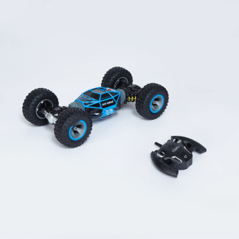 Toy Stunt Car and Remote Control Playset