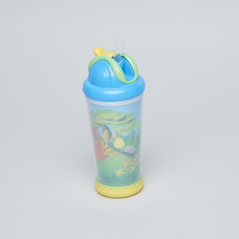 Nuby Bear Printed Insulated Non-Spill Bottle - 325 ml