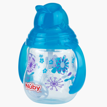 Nuby Printed Sipper with Handle - 270 ml