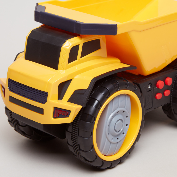 Construction Truck Toy with Lights and Sounds