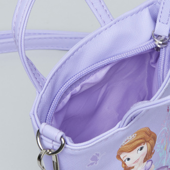 Sofia the First Printed Handbag with Detachable Strap