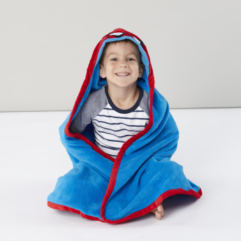 Spider-Man Hooded Throw with Contrast Piping