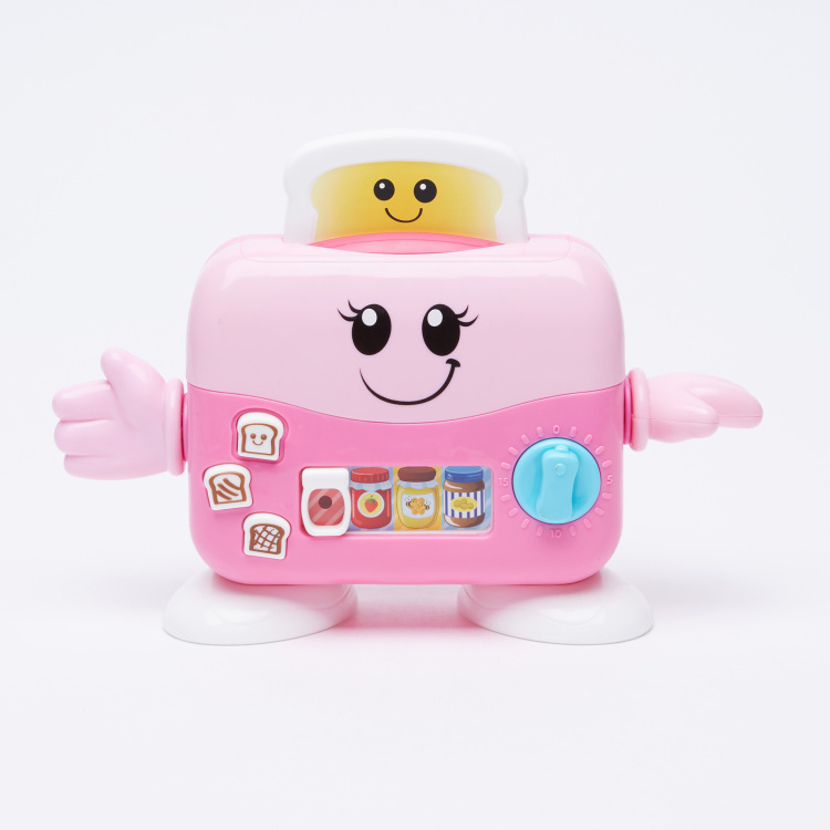 WinFun Toaster Toy with Light and Sound