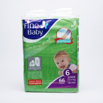 Fine Baby 66-Piece Mega Pack Diapers