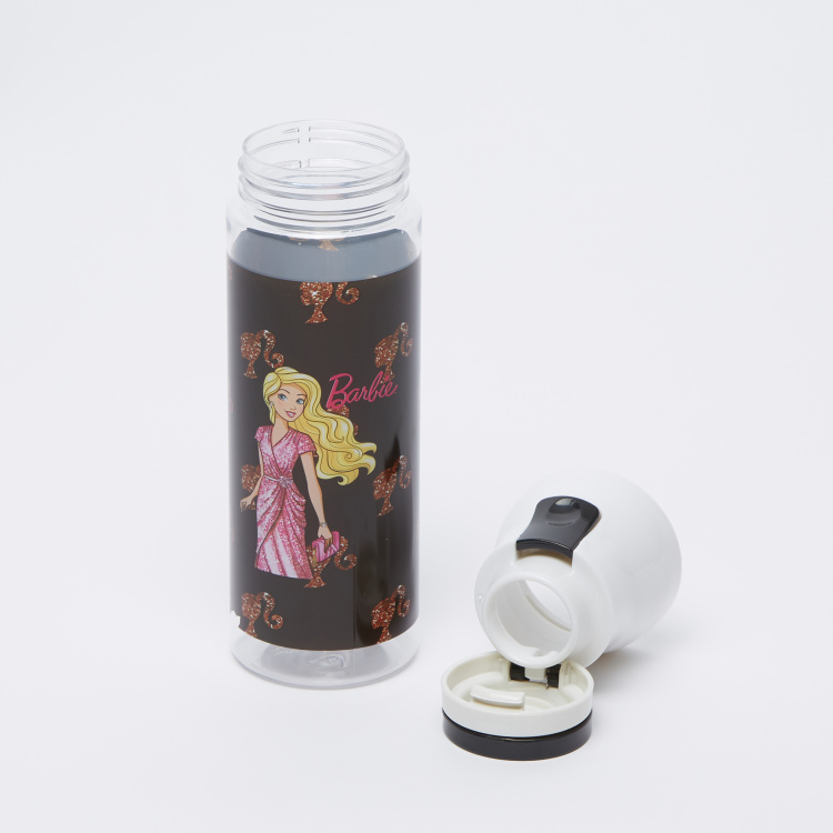 Barbie Printed Water Bottle - 650 ml