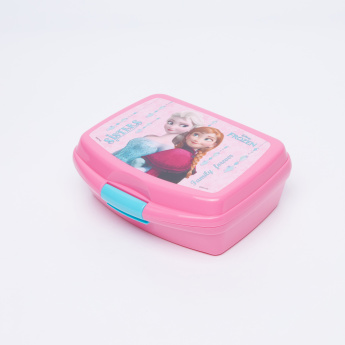 Frozen Printed Lunchbox with Clip Closure
