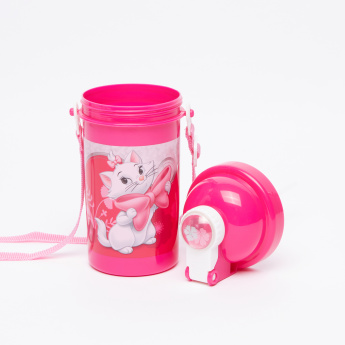 Marie the Cat Printed Water Bottle - 500 ml