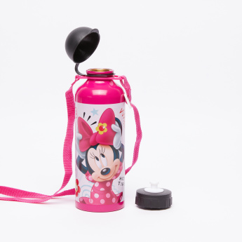Minnie Mouse Printed Water Bottle - 500 ml