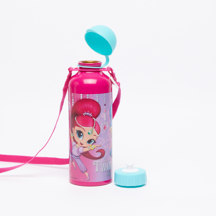 Shimmer and Shine Printed Water Bottle - 500 ml