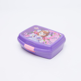 Sofia the Princess Printed Lunchbox with Clip Closure