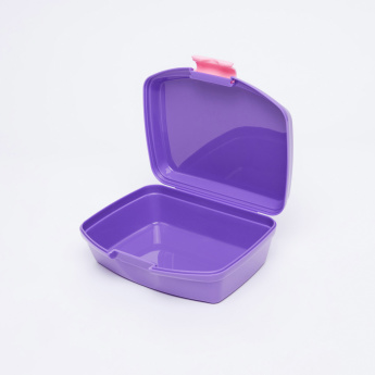 Sofia the First Printed Lunchbox with Clip Closure