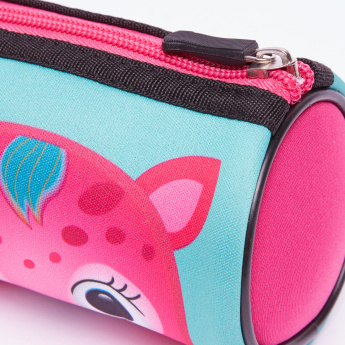 Juniors Printed Pencil Case with Zip Closure