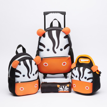 Juniors Printed Lunch Bag with Zip Closure