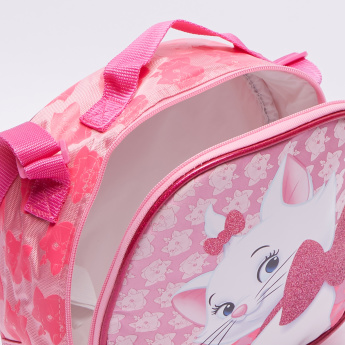 Marie Printed Lunch Bag with Zip Closure