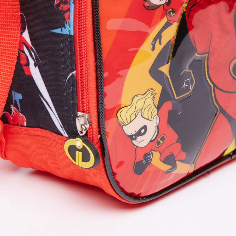 The Incredibles Lunch Bag with Round Zip Closure