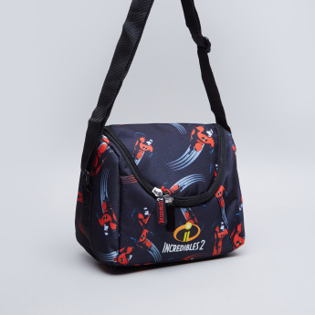 Incredibles 2 Printed Lunch Bag with Zip Closure