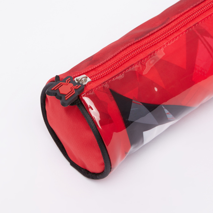 Spider-Man Printed Pencil Case with Zip Closure
