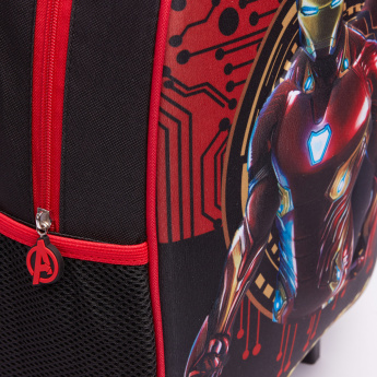Avengers Printed 3-Piece Trolley Backpack Set