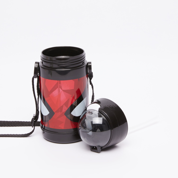 Spider-Man Printed Water Bottle with Spout