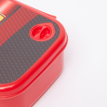 Ferrari Printed Lunchbox with Clip Closure