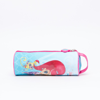 Shimmer and Shine Printed Pencil Case with Zip Closure