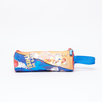 Sonic Printed Pencil Case with Zip Closure