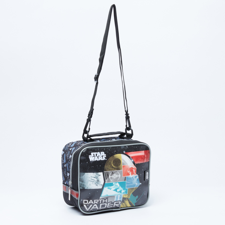 Star Wars Printed Lunch Bag  with Adjustable Strap