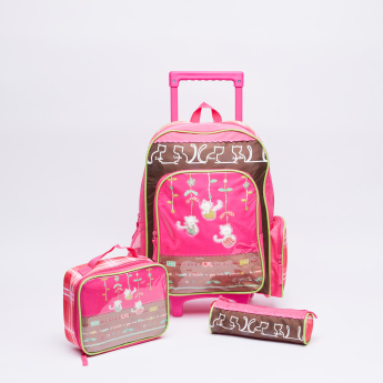 Juniors Printed Backpack Set