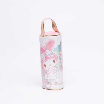 My Melody Printed Pencil Case with Zip Closure