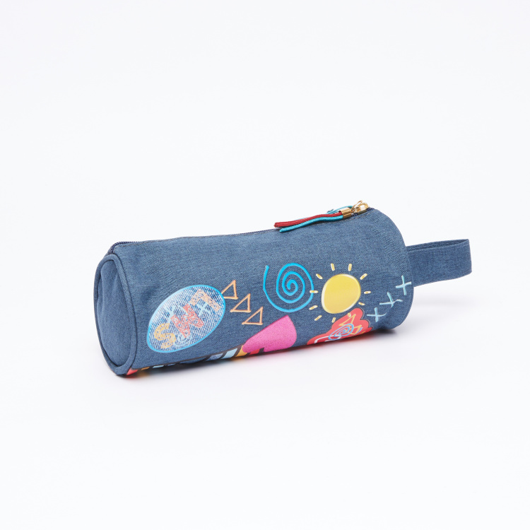 My Little Pony Printed Pencil Case with Zip Closure