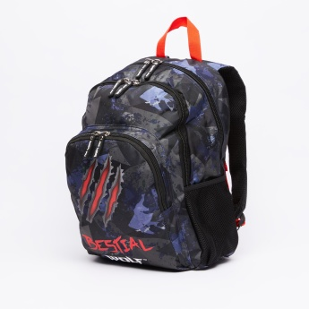 DIS2 Printed Backpack with Pencil Case
