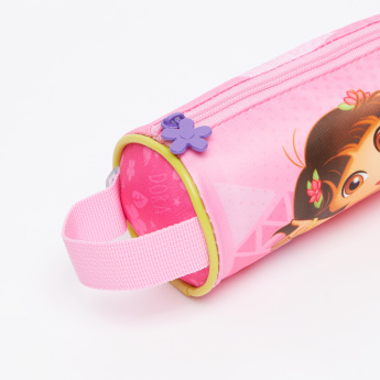 Dora the Explorer Printed Pencil Case with Zip Closure
