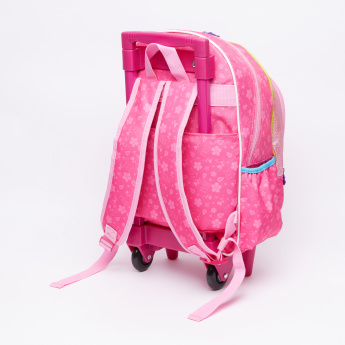Dora the Explorer Printed Trolley Backpack with Zip Closure
