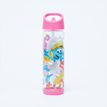 The Smurfs Printed Water Bottle - 500 ml